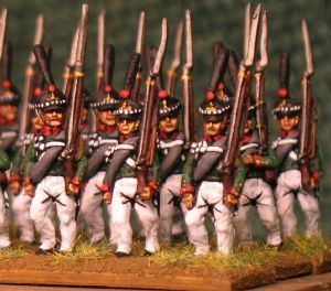 15mm, Napoleonic Russian Grenadiers, St Petersburg AB 24 figures